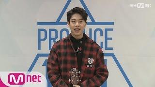 PRODUCE 101 season2 브랜뉴ㅣ김동현ㅣ어쿠스틱 Boy @자기소개_1분 PR 161212 EP.0