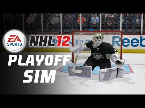 NHL 12 First Round Playoff Sim- Pittsburgh vs Philadelphia