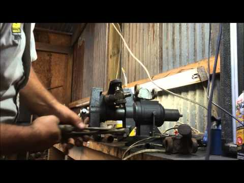 how to remove a factory GM u joint inside clip how to DIY