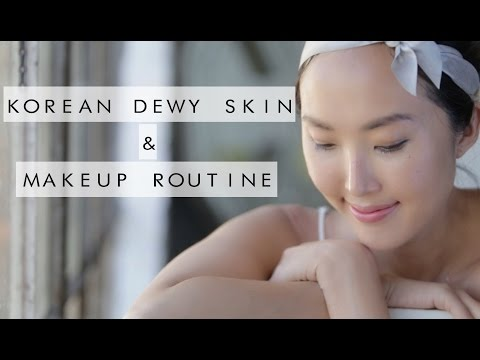 Korean Dewy Skin & Makeup
