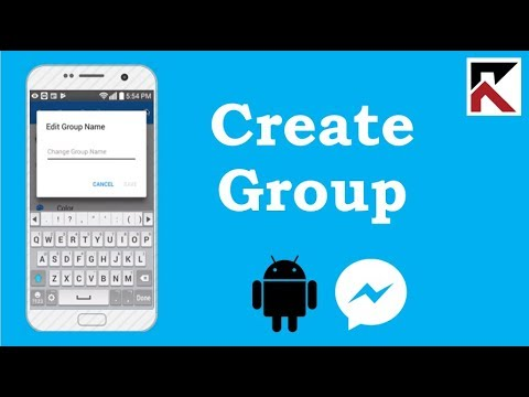 How To Create Group Conversation Facebook Messenger Android