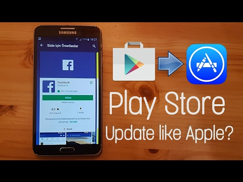 Play Store 2018 Update - Play store copies Apple App store
