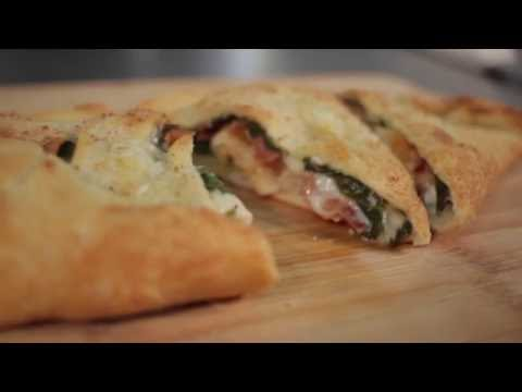 The Pizza Kitchen - Chicken Bacon Ranch Calzone