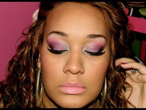 Xxx Mp4 Maquiagem Rosa Lilas E Azul Por Mila DeJesus 3gp Sex