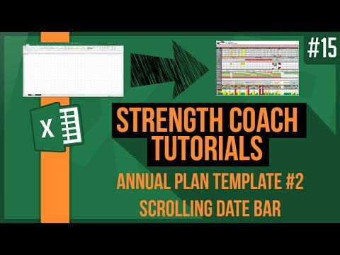 How to make a yearly training plan. Create an annual plan #2