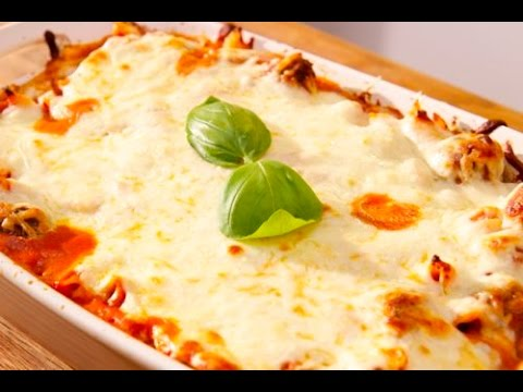 Baked Ziti with Mini Meatballs (Pasta al Forno) - Cooked by Julie - Episode 173
