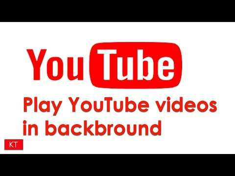 How to play YouTube videos in background in iPhone iOS