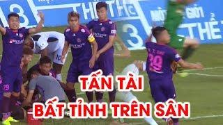 Huỳnh Tấn Tài bất tỉnh trên sân khiến cả HAGL và Sài Gòn FC thót tim! | NEXT SPORTS
