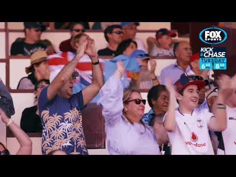 Rugby Kick and Chase - Samu Kerevi on the Fijian NRC team