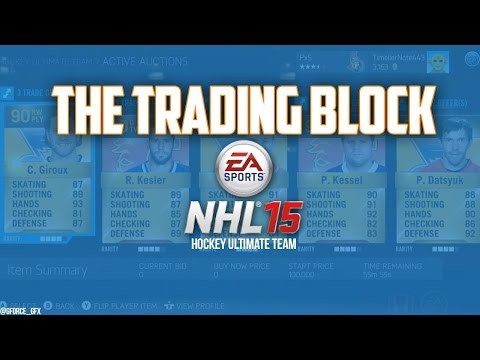 NHL 15 HUT   Trading Block #1 -
