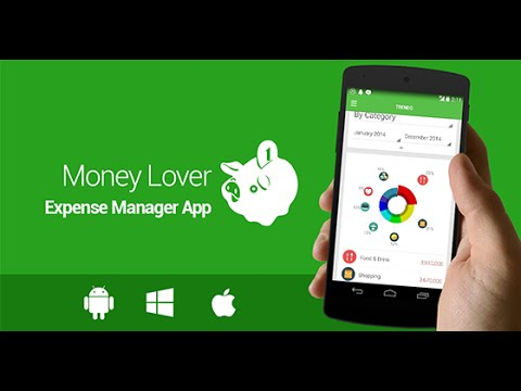 Money lover review digital wallet