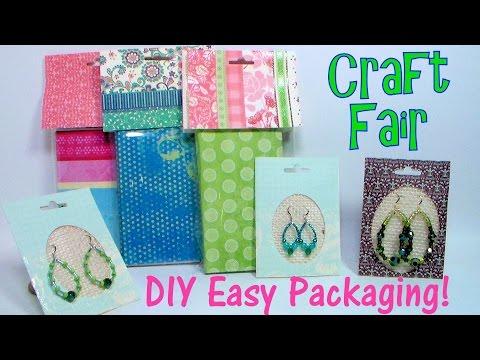 Easy DIY Craft Fair Packaging