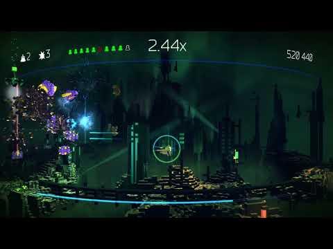 RPCS3 0.0.4-7251 4k IR | Resogun Gameplay