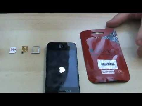 DEMO GEVEY SUPREME PRO PLUS UNLOCK FOR iPHONE 4 ALL BASEBAND