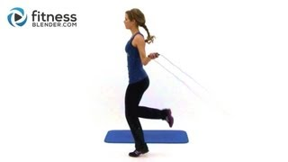 Jump Rope Weight Loss Routine 20 Minute Home Cardio Workout
