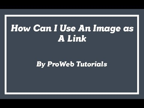 How can I Use Image as A Link - HTML Tutorial in Urdu/Hindi