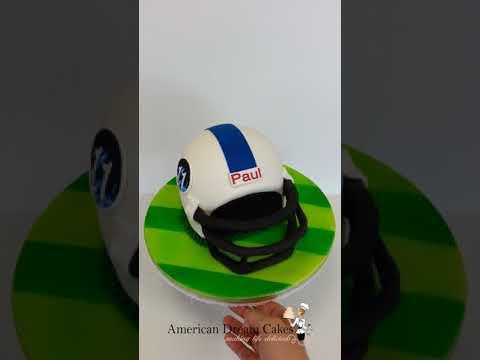 Football Helmet | 3-D Cakes