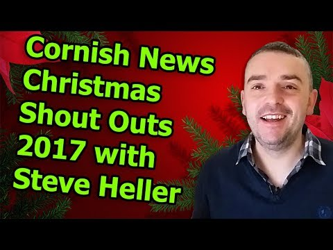 Cornish News Christmas Shout Outs 2017