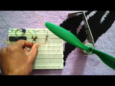 DC motor speed control using PIC16F877A microcontroller and CCS PIC C compiler