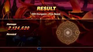 Summoners War - Rift Dungeon Fire Beast SS rank   Daikhlo