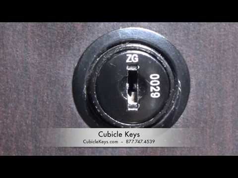 A-ZUM Lock Core Install, Removal, Replacement, Cubicle Keys