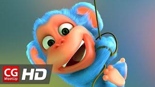 "CGI Animated Short Film ""Monkaa Short Film"" by Weybec | Blender"