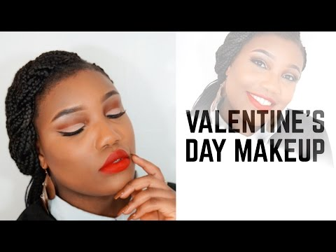 VALENTINES DAY MAKEUP 2017 | AVARESE BEAUTY (Look 1)