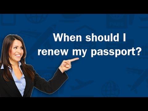 When should I renew my passport? - Q&A