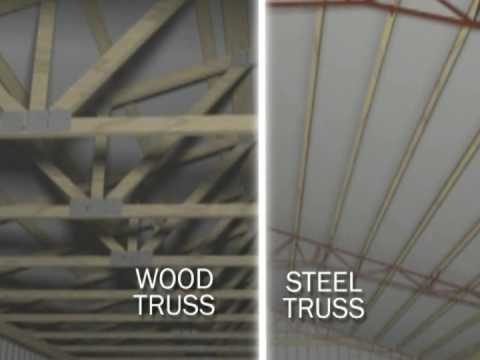 Post-frame Steel Truss advantage