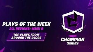 Fortnite Champion Series: Week 5 Plays of the Week