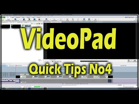 How to's VideoPad No4 Giving your video that retro look Old Film and Vignette