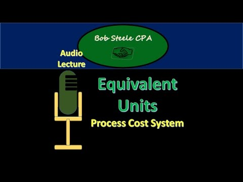 2000.20 Equivalent Units – Process Cost System