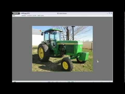 1974 JD 4430 Tractor Sold for $27,000 on Ohio Auction