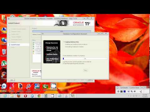 Installing Oracle 11g R2 on windows 8