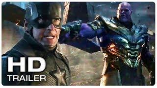 AVENGERS 4 ENDGAME Captain America Vs Thanos Fight Trailer (NEW 2019) Marvel Superhero Movie HD