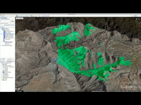 Google Earth Pro Viewshed Tool