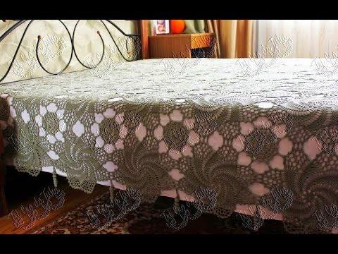 Crochet Bedspread Free Simplicity Patterns55 Crochet Flower