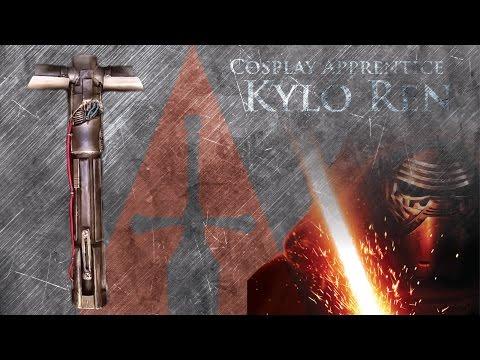 How to make a Lightsaber - Kylo Ren's Lightsaber