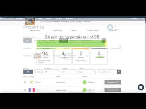 International Real Estate Marketing - How to view listings on our network
