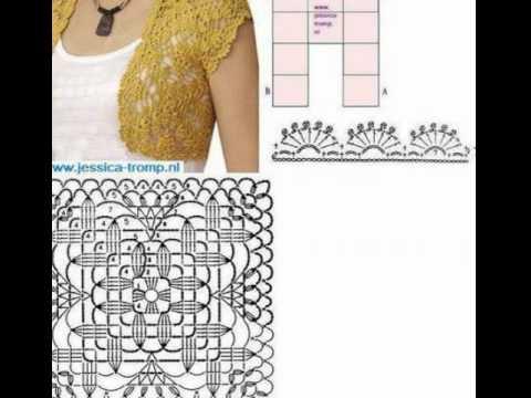 crochet shrug  how to crochet vest shrug free pattern tutorial for beginners 24