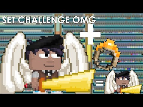 Growtopia | SET CHALLENGE with RING OF SHRINKING! So Cool omg! 😱