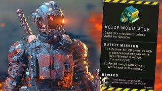 Blackout: How to UNLOCK Spectre! (Voice Modulator Location)