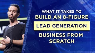How I Built a $100k+ per Day Lead Generation Business from Scratch   Anthony Sarandrea, AWasia 2019