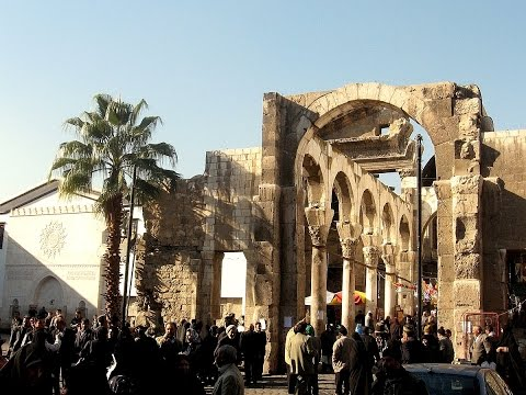 Damascus, architecture and monuments before the civil war started in Syria