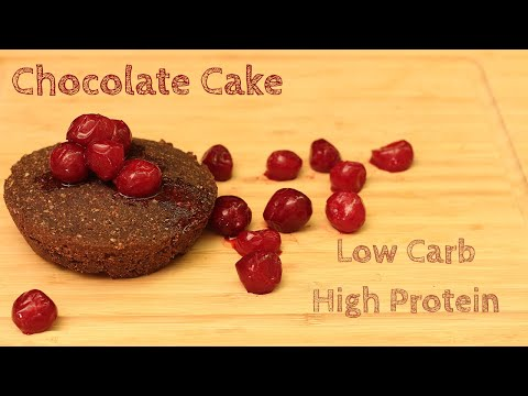Chocolate Cake Recipe with High Protein!