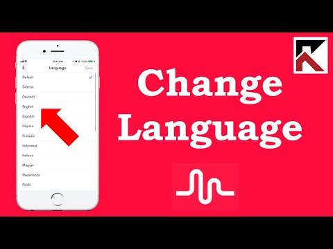 How To Change Language Musical.ly iPhone