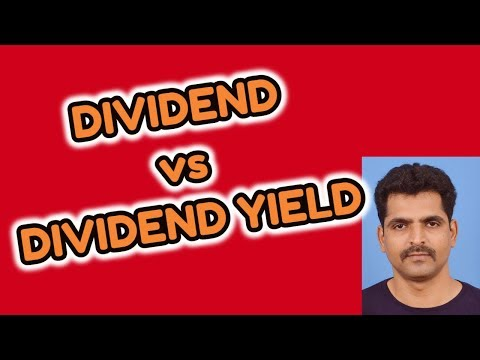 Dividend vs Dividend Yield | Stock Market Tips | Tamil Share