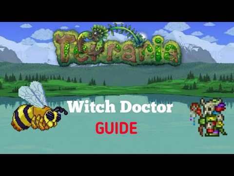 How to get witch doctor moved in Terraria   Terraria