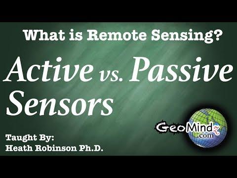What is Remote Sensing? (2/10) - Active vs. Passive Remote Sensing