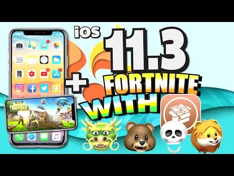 iOS 11.3 RELEASED (Features Review)! + Play Fortnite WITH JAILBREAK NOW! iPhone, iPad, iPod